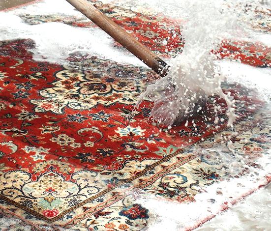 カーペットの水洗い